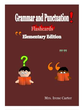 Grammar and Punctuation Flashcards Elementary Edition