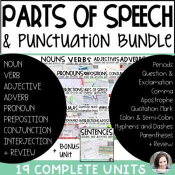 Grammar and Punctuation Mega Bundle