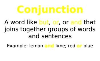 Grammar and Punctuation Vocabulary Cards