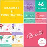 Grammar and Punctuation Worksheet Set