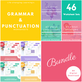 Grammar and Punctuation Worksheet Set