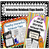 Grammar and Reading Interactive Notebook Flaps Bundle
