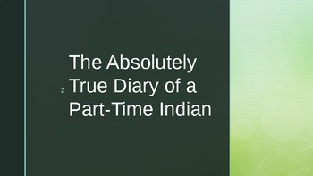 Grammar and The Absolutely True Diary of a Part-Time Indian
