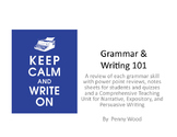 Grammar and Writing 101 Lesson Plan Bundles