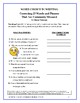 Grammar, Writing Practice: Worksheets Correcting Misused Words