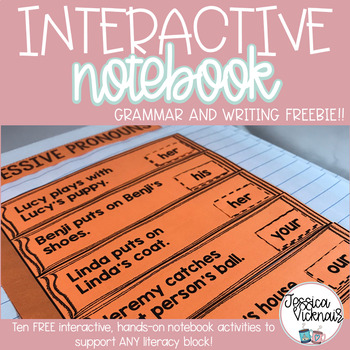 Grammar and Writing Interactive Notebook FREEBIE
