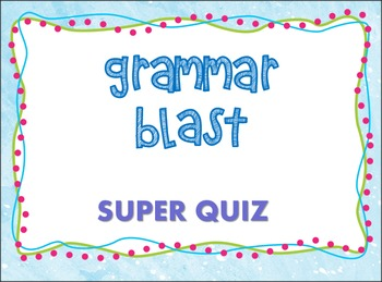 Grammar BLAST!