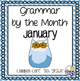 Grammar by the Month: January 5th Grade Common Core