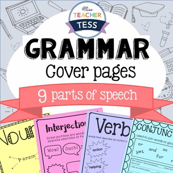 Grammar cover pages