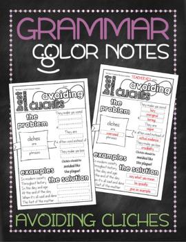 Grammar doodle notes: Avoiding cliches
