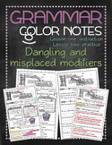 Grammar color notes: Dangling and misplaced modifiers