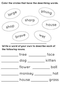 Grammar for Grades 1-2