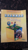 Grammar for Writing Level Yellow Teacher's Edition (Grade 8) - EUC! (EAXL)