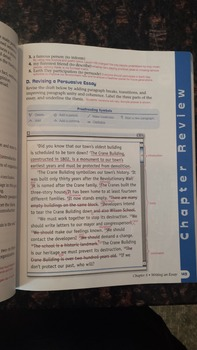 Grammar for Writing Level Yellow Teacher's Edition (Grade 8) - EUC! (EAXL)