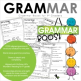 Grammar for the YEAR! 1st Grade - Wonders Aligned - Grammar Boost