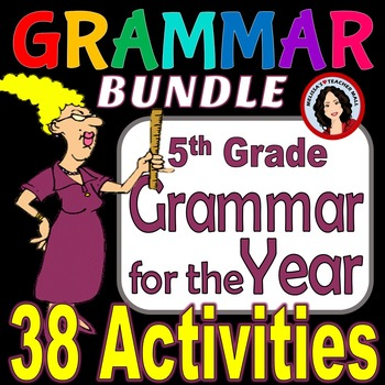 Grammar Center Activities for the Year, New Year Special