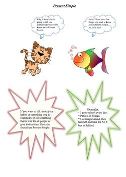 Grammar fun: Tenses: Present Simple-Present Continuous