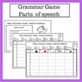 Grammar game, Parts of Speech