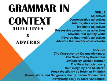 Grammar in Context: Adjectives and Adverbs
