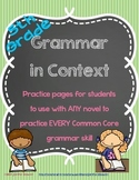 Grammar in Context - Aligned with All 5th Grade CC Languag