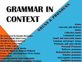 Grammar in Context: Nouns and Pronouns