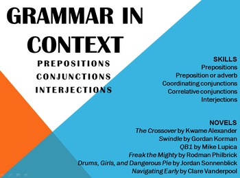 Grammar in Context: Prepositions, Conjunctions, and Interjections