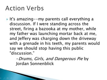 Grammar in Context: Verbs
