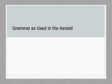 Grammar in the Aeneid