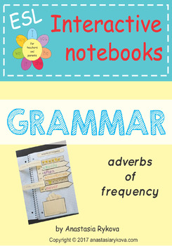 """Grammar interactive notebooks """"Adverbs of frequency"""""""