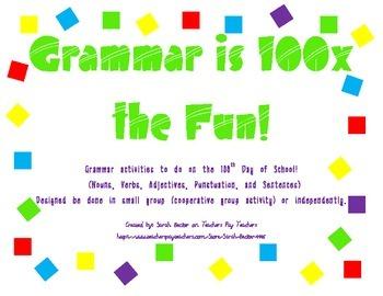 Grammar is 100x the Fun (100th Day)