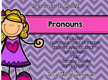 Grammar is Great - Pronouns Pack