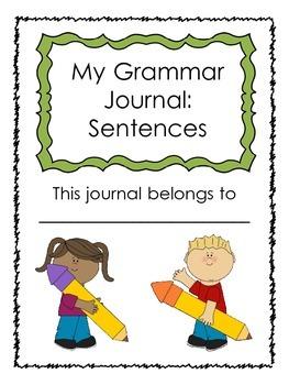 Grammar Journal: Sentences