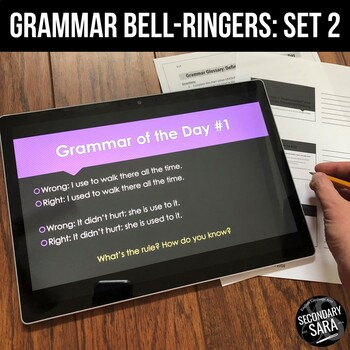 Grammar of the Day, Vol. 2: Inference-Style Bell-Ringers or Mini-Lessons