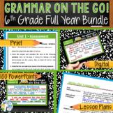 GRAMMAR & VOCABULARY PROGRAM - 6th Grade - Standards Based – FULL YEAR!!!!!