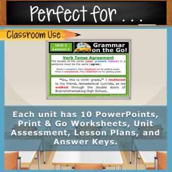 GRAMMAR & VOCABULARY PROGRAM - 9th Grade - Standards Based – FULL YEAR!!!!!!!