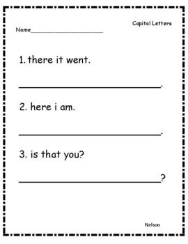 Grammar/ Phonics