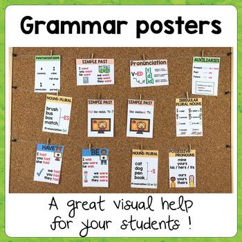 Grammar Posters Set2