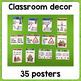 Grammar posters: pronouns / possessive adj/ link verbs / simple present / Be-ing