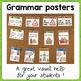 Grammar posters: pronouns / possessive adj/ link verbs / s