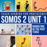 Grammar Activity: Caesar sentences Discussion to Introduce Preterite #SOMOS2