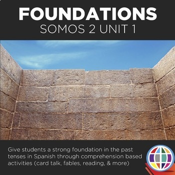 SOMOS Spanish 2 Unit 1: Foundations in the past tenses in Spanish