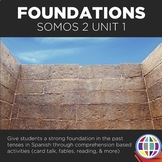 SOMOS 2 Unit 01: Foundations in the past tenses in Spanish