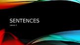 Grammar sentence powerpoint