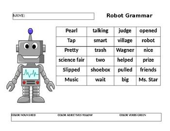 Grammar with Robots