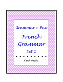 Grammar * Pac For French Class Set 1