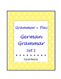 Grammar * Pac For German Class Set 1