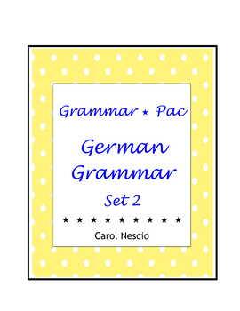 Grammar * Pac For German Class Set 2