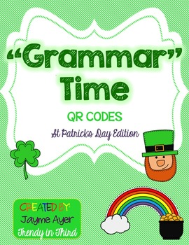 """""""Grammar""""Time: St. Patrick's Day Edition"""