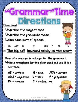 """""""Grammar""""Time Sports Edition: Daily Review of CCSS Language Skills"""