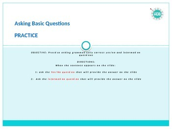 Grammar_Asking Questions practice_Basic to Intermediate_Focus on Where and There